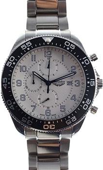 Швейцарские наручные  мужские часы Adriatica 1147.51B3CH. Коллекция Aviation