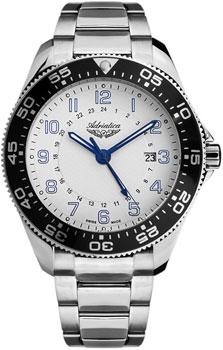 Швейцарские наручные  мужские часы Adriatica 1147.51B3Q. Коллекция Gents