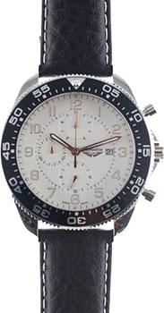 Швейцарские наручные  мужские часы Adriatica 1147.R223CH. Коллекция Aviation