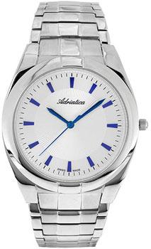 Швейцарские наручные  мужские часы Adriatica 1173.51B3Q. Коллекция Gents