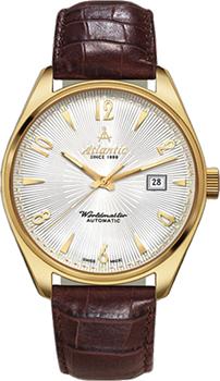 Швейцарские наручные  женские часы Atlantic 11750.45.25G. Коллекция Art. Deco