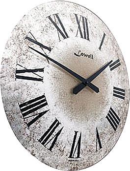 Настенные часы  Lowell 11812. Коллекция Glass
