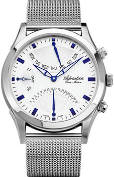 Швейцарские наручные  мужские часы Adriatica 1191.51B3CH. Коллекция Chronograph