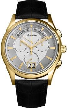 Швейцарские наручные  мужские часы Adriatica 1193.1213CH. Коллекция Multifunction