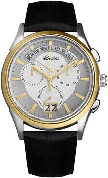 Швейцарские наручные  мужские часы Adriatica 1193.2213CH. Коллекция Multifunction