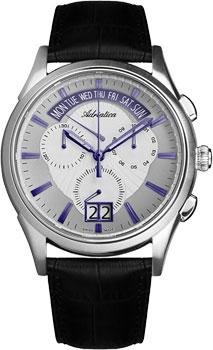 Швейцарские наручные  мужские часы Adriatica 1193.52B3CH. Коллекция Multifunction