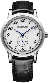 Швейцарские наручные  мужские часы Aerowatch 11949-AA03. Коллекция Les Grandes Classiques
