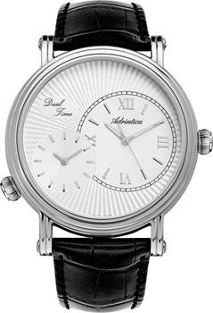 Швейцарские наручные  мужские часы Adriatica 1196.5263Q. Коллекция Gents