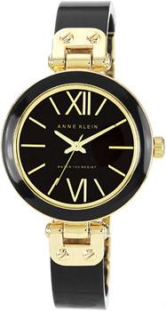 fashion наручные  женские часы Anne Klein 1196GPBK. Коллекция Plastic