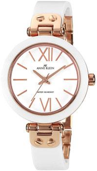 fashion наручные  женские часы Anne Klein 1196RGWT. Коллекция Plastic