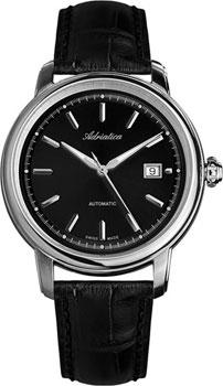 Швейцарские наручные  мужские часы Adriatica 1197.5214A. Коллекция Automatic