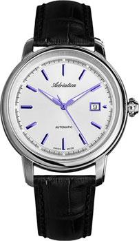 Швейцарские наручные  мужские часы Adriatica 1197.52B3A. Коллекция Automatic