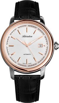 Швейцарские наручные  мужские часы Adriatica 1197.R213A. Коллекция Automatic
