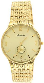 Швейцарские наручные  мужские часы Adriatica 1229.1151Q. Коллекция Gents