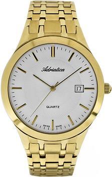 Швейцарские наручные  мужские часы Adriatica 1236.1113Q. Коллекция Gents
