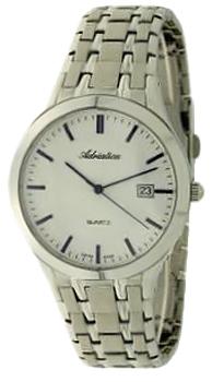 Швейцарские наручные  мужские часы Adriatica 1236.51B3Q. Коллекция Gents