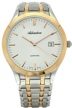 Швейцарские наручные  мужские часы Adriatica 1236.R113Q. Коллекция Gents