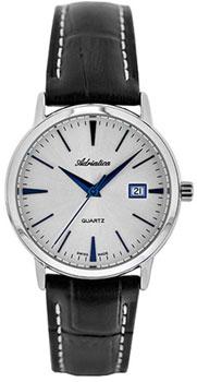 Швейцарские наручные  мужские часы Adriatica 1243.52B3Q. Коллекция Gents