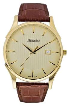 Швейцарские наручные  мужские часы Adriatica 1246.1211Q. Коллекция Gents