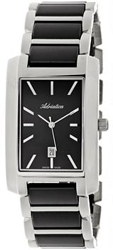 Швейцарские наручные  мужские часы Adriatica 1248.E114Q. Коллекция Gents