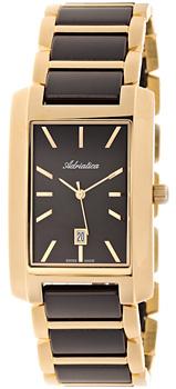 Швейцарские наручные  мужские часы Adriatica 1248.F114Q. Коллекция Gents