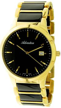 Швейцарские наручные  мужские часы Adriatica 1249.F114Q. Коллекция Gents