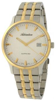 Швейцарские наручные  мужские часы Adriatica 1258.2113Q. Коллекция Gents