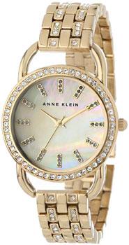 fashion наручные  женские часы Anne Klein 1262CMGB. Коллекция Crystal