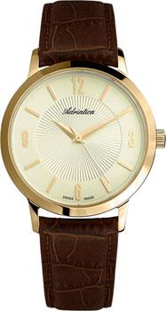 Швейцарские наручные  мужские часы Adriatica 1273.1251Q. Коллекция Twin