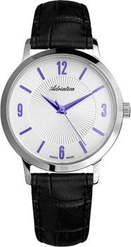 Швейцарские наручные  мужские часы Adriatica 1273.52B3Q. Коллекция Twin