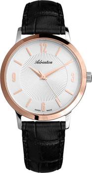 Швейцарские наручные  мужские часы Adriatica 1273.R253Q. Коллекция Twin