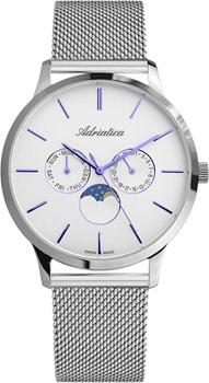 Швейцарские наручные  мужские часы Adriatica 1274.51B3QF. Коллекция Multifunction