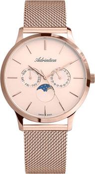 Швейцарские наручные  мужские часы Adriatica 1274.9119QF. Коллекция Multifunction