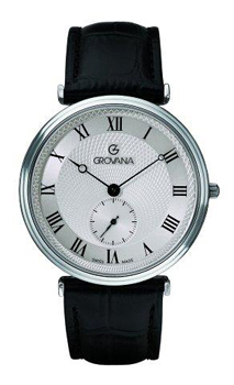 Швейцарские наручные  мужские часы Grovana 1276.5538. Коллекция Traditional