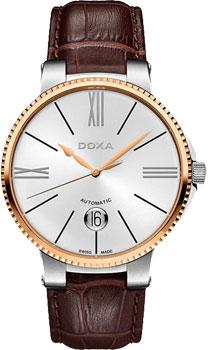 Швейцарские наручные  мужские часы Doxa 130.60.022.02. Коллекция Classic