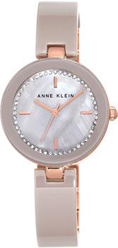 fashion наручные  женские часы Anne Klein 1314RGTP. Коллекция Ceramics