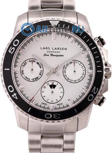Мужские наручные швейцарские часы в коллекции Sea Navigator Lars Larsen