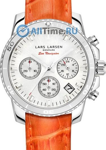 Женские наручные швейцарские часы в коллекции Sea Navigator Lars Larsen