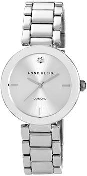 fashion наручные  женские часы Anne Klein 1363SVSV. Коллекция Diamond