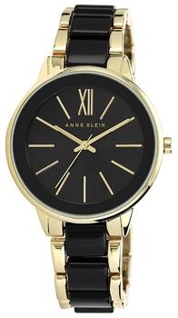 fashion наручные  женские часы Anne Klein 1412BKGB. Коллекция Plastic