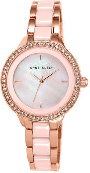 fashion наручные  женские часы Anne Klein 1418RGLP. Коллекция Ceramics