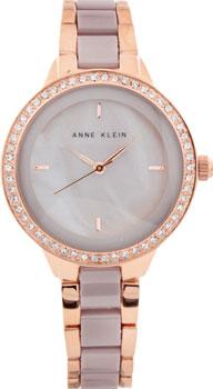 fashion наручные  женские часы Anne Klein 1418RGTP. Коллекция Ceramics