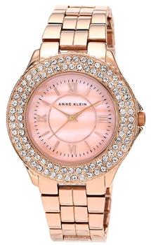 fashion наручные  женские часы Anne Klein 1430RMRG. Коллекция Crystal