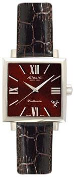 Швейцарские наручные  женские часы Atlantic 14350.41.88. Коллекция Worldmaster