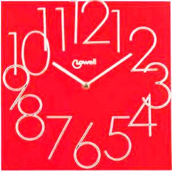Настенные часы  Lowell 14535R. Коллекция Wooden