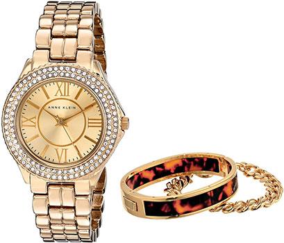 fashion наручные  женские часы Anne Klein 1462TOST. Коллекция Crystal