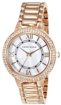 fashion наручные  женские часы Anne Klein 1498MPRG. Коллекция Crystal