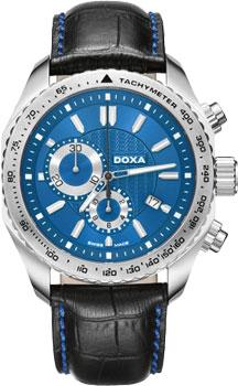 Швейцарские наручные  мужские часы Doxa 154.10.201.01B. Коллекция Sports