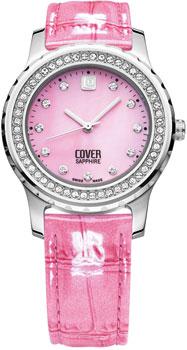 Швейцарские наручные  женские часы Cover 154.ST10LPK_SW. Коллекция Brilliant times