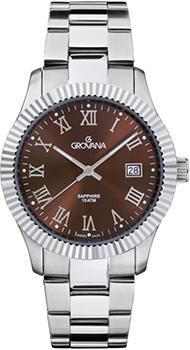 Швейцарские наручные  мужские часы Grovana 1545.1136. Коллекция Traditional